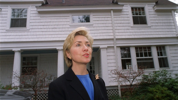 Records reveal as secretary of state hillary clinton ran Bill clinton address chappaqua