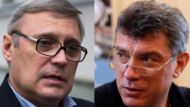 Kasyanov and Nemtsov