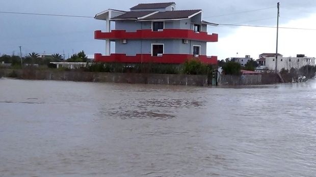 Flooding in Albania