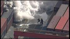 Hazmat call leads to fire evacuation at Port Metro