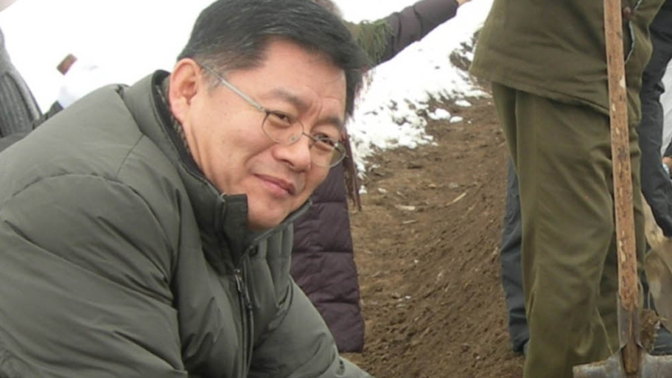 Hyeon Soo Lim in the Democratic People's Republic of Korea, 2007