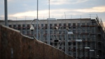 The new headquarters of the German Intelligence Service (BND) in Berlin under construction on Sunday July 10, 2011. (AP / dapd / Tobias Schaertl)
