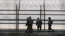 North Korea South Korea border
