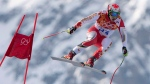 Erik Guay at the Sochi Winter Olympics in Krasnaya Polyana, Russia, on Feb. 16, 2014. (THE CANADIAN PRESS / Jonathan Hayward)