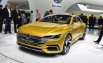 Volkswagen Sport Coupé Concept GTE at the 2015 Geneva Motor Show (photo: Newspress)