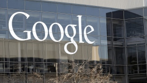 A Google sign is seen at the company's headquarters in Mountain View, Calif., on Jan. 3, 2013. (Marcio Jose Sanchez/AP Photo)
