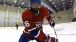 P.K. Subban is seen in an new video showing off his skills.