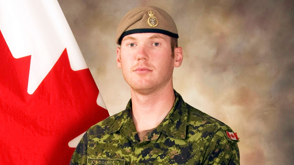 Sgt. Andrew Joseph Doiron was killed in a friendly-fire incident in Iraq on Friday, March 6, 2015.