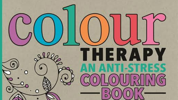 Colour Therapy Adult Colouring Books Focus On Anti Stress Benefits