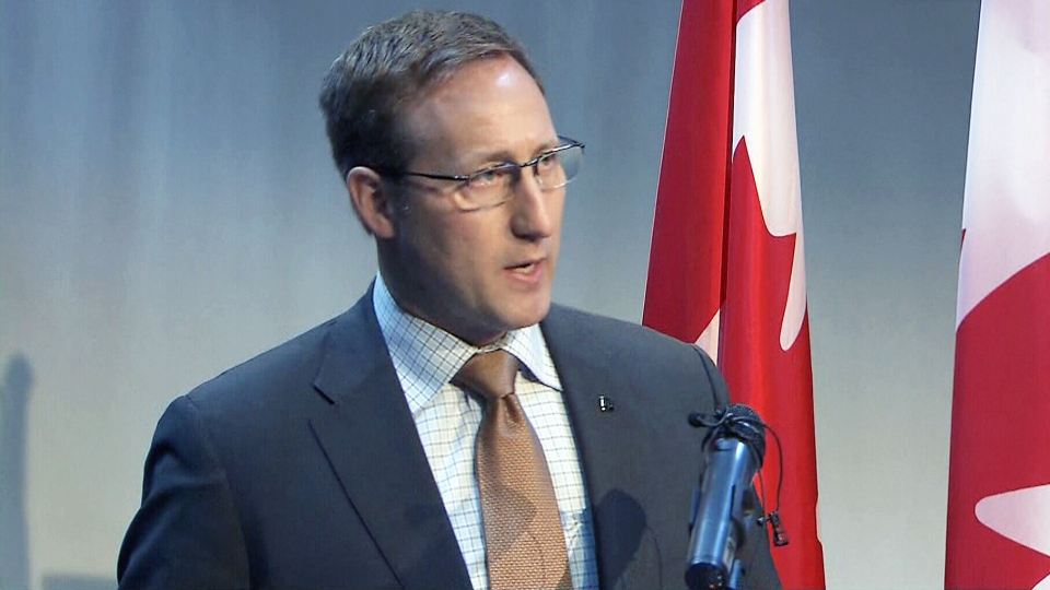 Justice Minister Peter MacKay makes an announcement Monday, March 9, 2015.