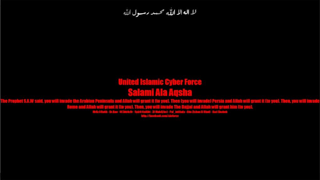 Hacked Bloc Quebecois site