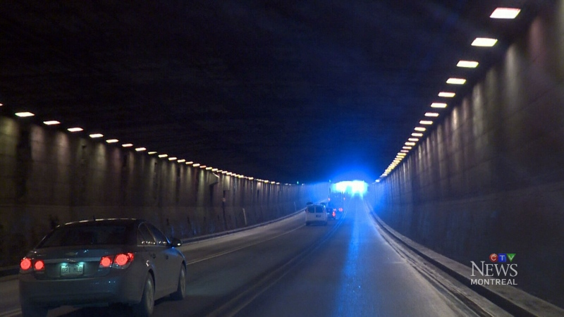 CTV Montreal: Rustproofing the Lafontaine Tunnel