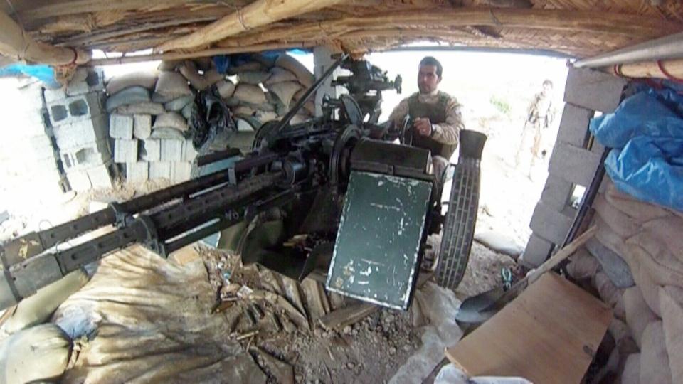 Peshmerga forces Iraq