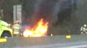 MyNews: Car fire east of Chilliwack, B.C.