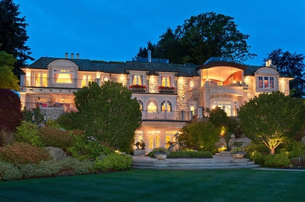 The 25,000 square-foot mansion, which sits on more than two acres in the city's posh Point Grey neighbourhood, has been sold to a Chinese businessman. The home boasts waterfalls, lush gardens, tennis and sport courts, home theatre, indoor pool, 10-car underground garage, a guest house and a self-contained studio. It was sold by Electronic Arts executive Don Mattrick. (Vancouver Luxury Real Estate)
