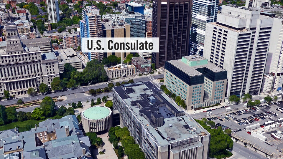 A Pakistani man has been arrested in connection with a suspected terror plot against the U.S. consulate in Toronto.