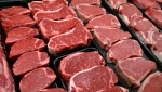 Steaks and other beef products are displayed for sale at a grocery store in McLean, Va.  Jan. 18, 2010. (AP / J. Scott Applewhite)