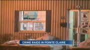 Police raid at 66 Donegani in Pointe Claire