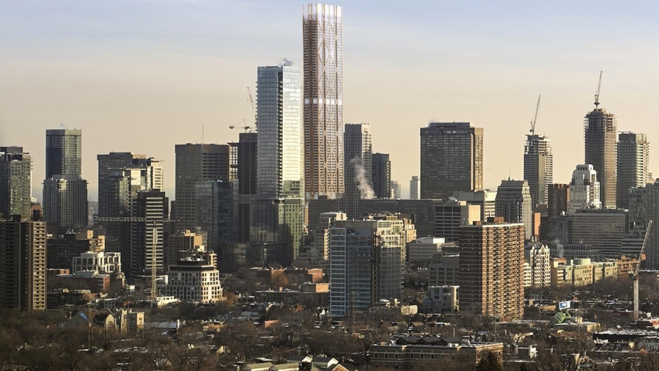The One Tower Plan Would Reshape Toronto Skyline Ctv