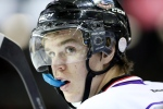 Connor McDavid, of the Erie Otters, looks on during the third period of the CHL Top Prospects Game in St. Catharines, Ontario on Thursday, January 22, 2015. (Peter Power / THE CANADIAN PRESS)