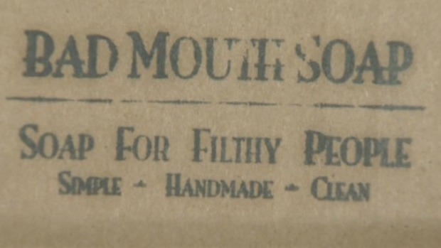A Nova Scotia woman has created a line of handmade soaps called Bad Mouth Soap.