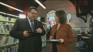 CTV Montreal: Talk of the town with Mayor Coderre