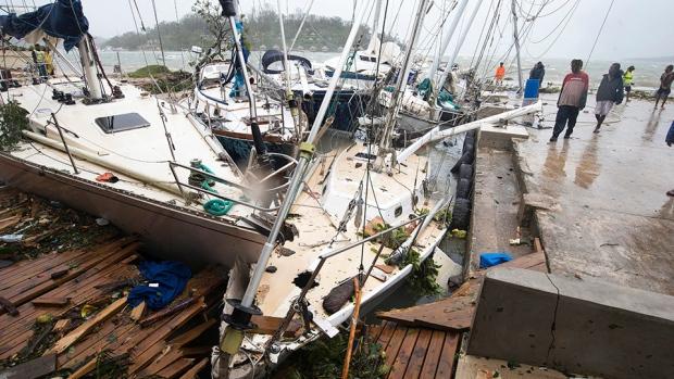 Savage storm: Cyclone Pam strikes Vanuatu