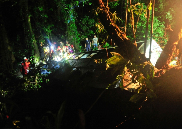 Brazilian bus crash kills at least 49