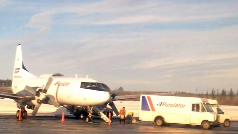 Video Shows Purolator Employees Tossing Packages Into