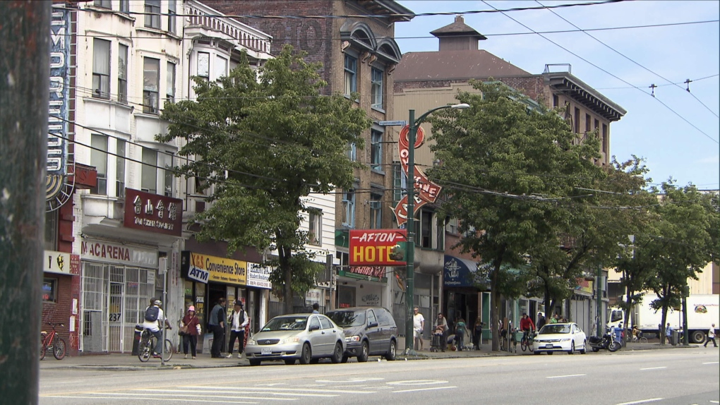 DTES downtown eastside
