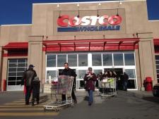 Costco store in Montreal