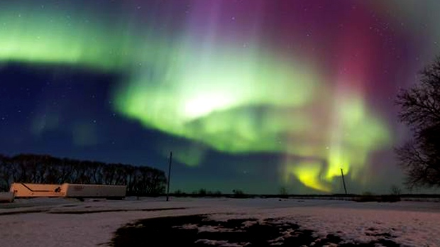 in pictures  northern lights  tuesday  march 17