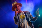 This April 19, 2014 file photo shows Pharrell Williams performing at the 2014 Coachella Music and Arts Festival in Indio, Calif. (Zach Cordner / Invision / AP Photo)