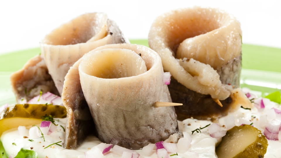 Fish such as herring (pictured) mackeral and tuna are good sources of vitamin D. (Jacek Chabraszewski/Shutterstock.com)