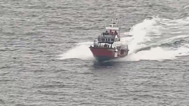 2 Swim To Safety After Tugboat Sinks Near Sunshine Coast
