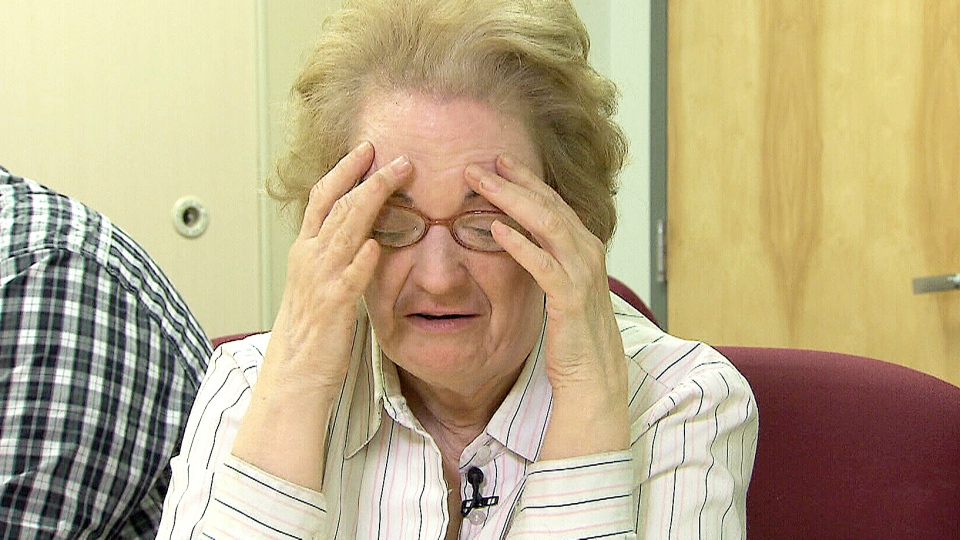 Gladys Whincup is worried about losing her job.