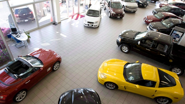 Statistics Canada says retail sales slipped 0.6 per cent in February