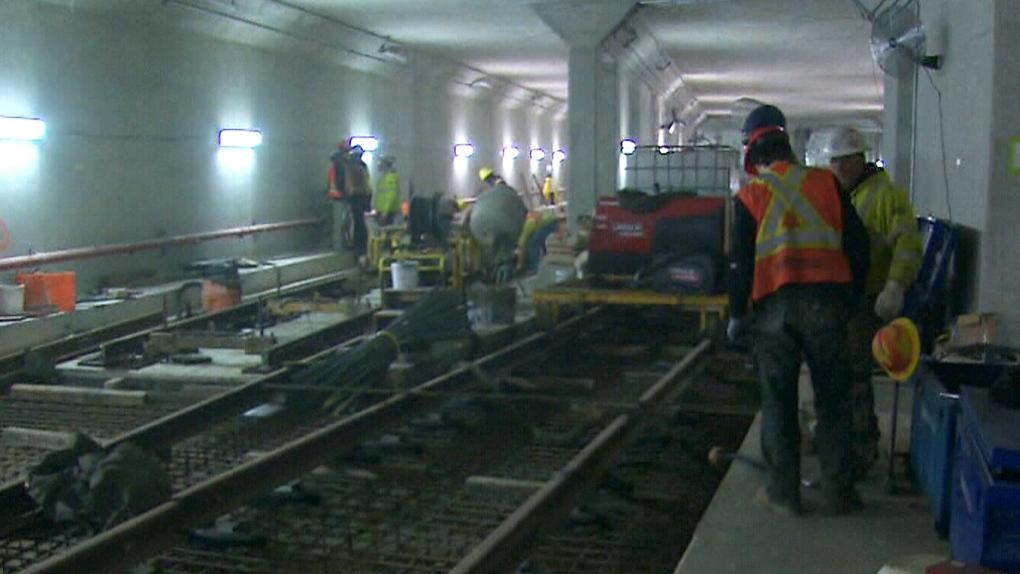 Spadina subway cost overruns