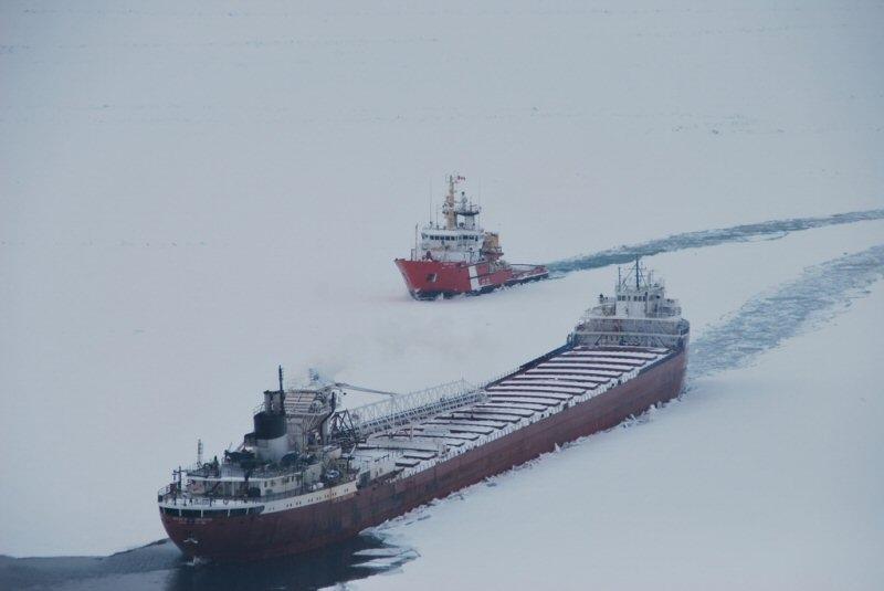 Coast Guard icebreaking