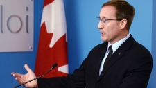 Federal Justice Minister Peter MacKay