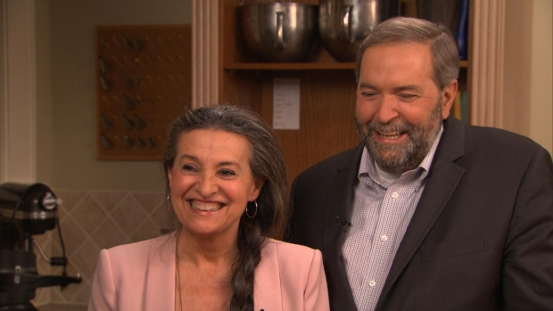 Mulcair and his wife