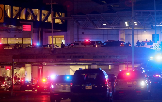 New Orleans Machete airport attack