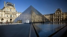 The Louvre is launching a Pyramid Project to improve entry for visitors. (AFP PHOTO/LOIC VENANCE)