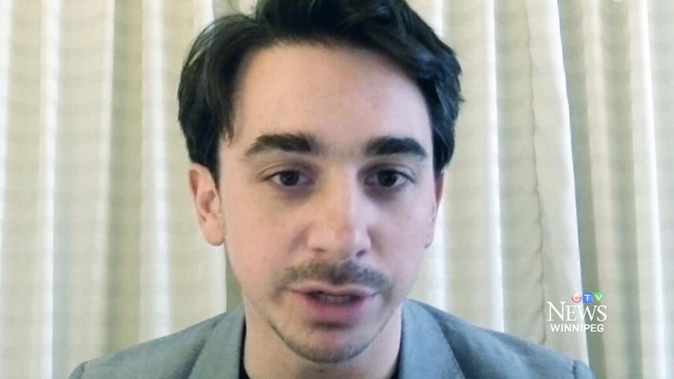 Joseph Fasano, author of the upcoming 'Vincent,' speaks to CTV Winnipeg.