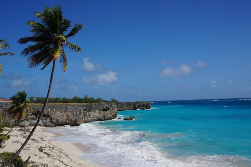This January 2015 photo shows Bottom Bay in Barbados. (AP / Kavitha Surana)