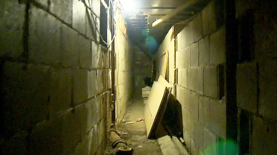 The owner of the Hat Resto Pub in Edmonton says that he discovered a tunnel in the building's basement.