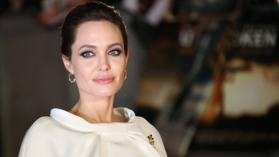 Angelina Jolie at the premiere of the film Unbroken in London, England. on Nov. 25, 2014. (Joel Ryan / Invision)