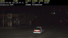 Calgary Police Service - speeding