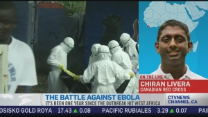 CTV News Channel: One year since outbreak hit
