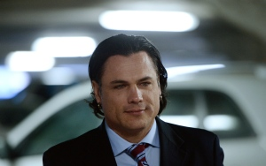 Suspended senator Patrick Brazeau arrives at the Gatineau Courthouse in Gatineau, Que., on Wednesday, March 25, 2015. (The Canadian Press/Sean Kilpatrick)